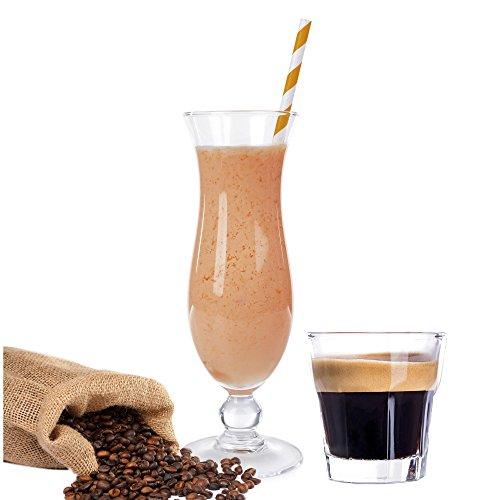 Espresso Molkepulver Luxofit mit L-Carnitin Protein angereichert Wellnessdrink Aspartamfrei Molke (Espresso, 1 kg)