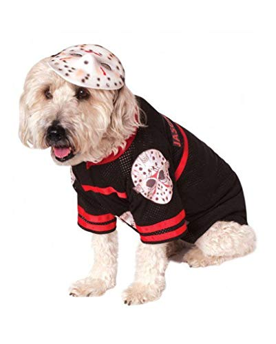 Horror-Shop Jason Voorhees Costume Dog L