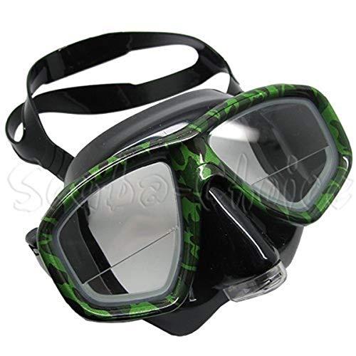 Prime Scuba-Set da Snorkeling spurgato, Motivo Dive Mask FARSIGHTED prescrizione RX 1/3 Lenti correttive Ottico