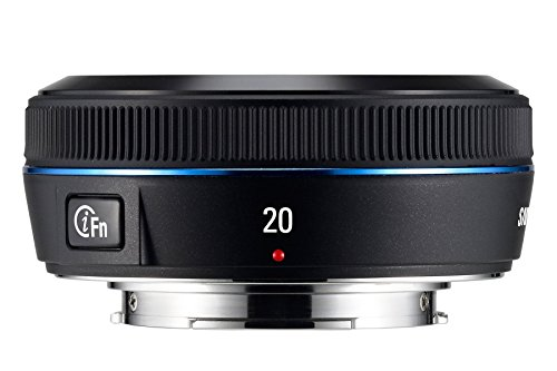 Samsung EX-W20NB i-Function Objektiv 20 mm F2.8 (43 mm Filtergewinde), NX-Serie