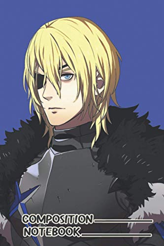 Adult Dimitri Timeskip Fire Emblem Three Houses Notebook: (110 Pages, Lined, 6 x 9)