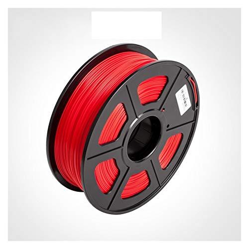 1.75MM PETG Filament for Lampshape Pendant No Bubble PETG 3D Printer Filament 1KG/2.2LBS with Spool Tolerance +/-0.02mm Printing Filament (Color : Red PETG)