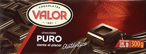 Chocolates Valor - Chocolate Puro - 300 g - [Pack de 10]