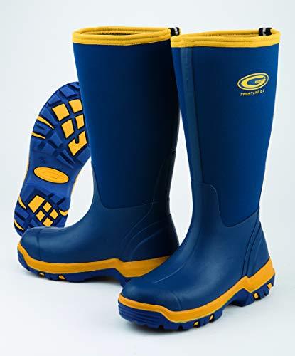 Grubs Boots Unisex-Erwachsene TR-GRB0060 Grubs Stiefel, Blueberry, Größe 3