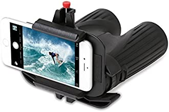 Snapzoom Universal Digiscoping Adapter for iPhone and Android Smartphones. Compatible with Binoculars Microscopes Spotting Scopes and Telescopes.