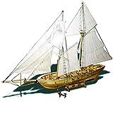 CLX Modelos Básicos DIY Maquetas Barcos Madera Vela Construir Montar Montaje Kits Barco Niños Y Adultos Regalo Modelismo Model Set Manualidades Hobby Building,Ferry