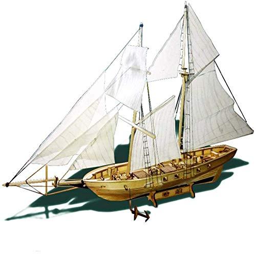 CLX Modelos Básicos DIY Maquetas Barcos Madera Vela