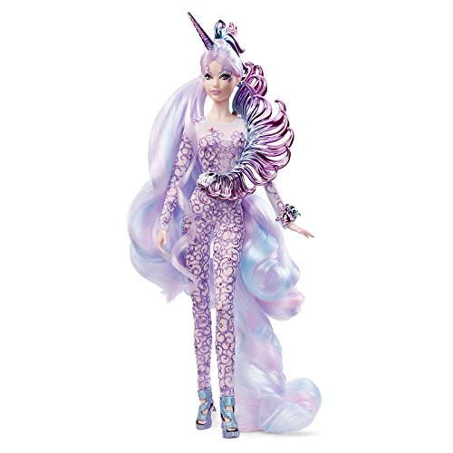 Barbie FJH82 - Barbie Signature Barbie Unicorn Goddess Puppe