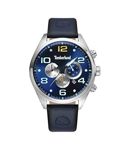 TIMBERLAND Reloj Analógico para Hombre de Cuarzo con Correa en Piel 15477JS-03