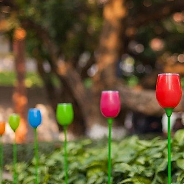 ZLJ Outdoor Solar LED Lampe Tulip Garden durch Street Beleuchtung
