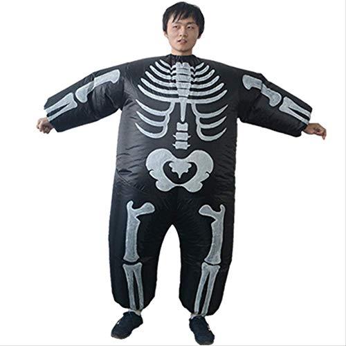 1yess Partido de Cosplay de Halloween Divertido crneo Diablo Diablo mueca Inflable Traje Divertido Divertido Rendimiento Etapa