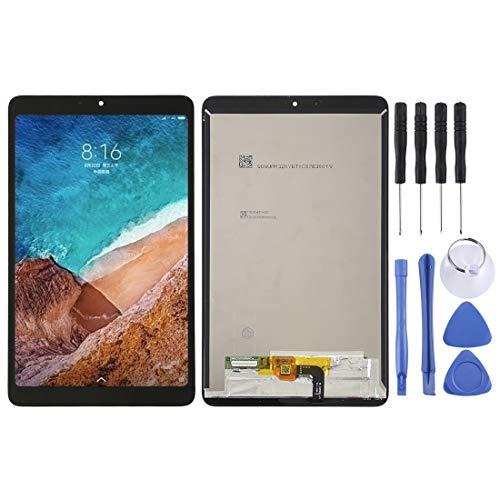 Dmtrab Pantalla LCD de la Pantalla LCD de Repuesto y digitalizador Asamblea Completa for Xiaomi Mi Pad 4 (Negro) Pantalla LCD (Color : Black)