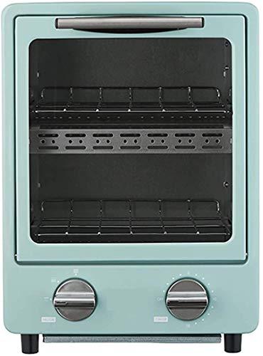 Cocina Mini Horno de tostadora, 9L Aire Fryer Horno Convección Rotisserie Horno Tostadas / Hornear / Asar / Asar / deshidratar