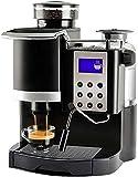 GaoF Cafetera, máquina de café expreso automática Tipo Italia de 20BAR con Molinillo de Frijoles y espumador de Leche