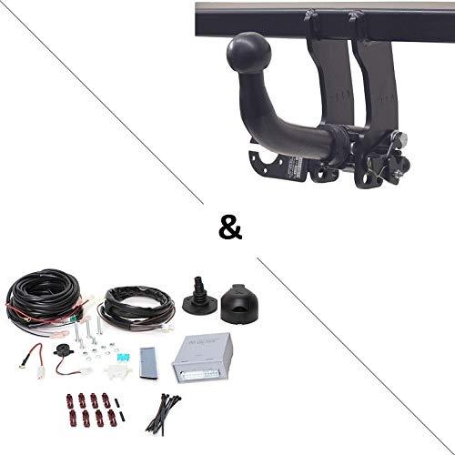 Auto-Hak Attelage Ford Tourneo Courier (06/14-) RDSOH + Faisceau Universel 7 Broches + boitier électronique