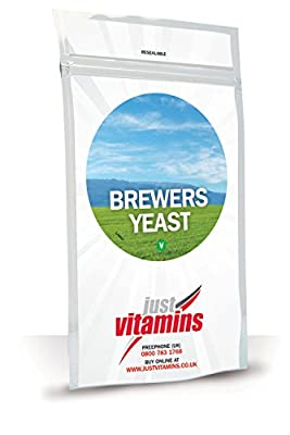 Just Vitamins Brewers Yeast 300mg 500 Tablets