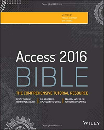 Download Access 2016 Bible