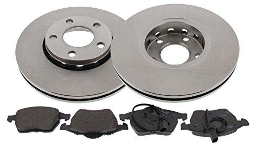 MAPCO 47860 Bremsensatz Bremsscheiben mit Bremsbeläge Vorderachse