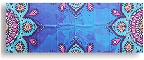 Hot yoga handdoek microvezel opvouwbare draagbare fitness pilates yoga handdoek zachte anti-slip indoor outdoor sportmat