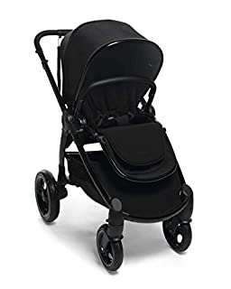Mamas & Papas Ocarro All Terrain Puschair, Buggy, Pram, One Hand Fold, Puncture-Proof Tyres, Extendable Hood & Adjustable Lie Flat Seat - Raven (B07YNTC985)   Amazon price tracker / tracking, Amazon price history charts, Amazon price watches, Amazon price drop alerts