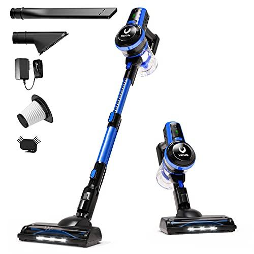 VacLife Stick Vacuum Cleaner, 4-in-1 Cordless Vacuum Cleaner for Hard Floors