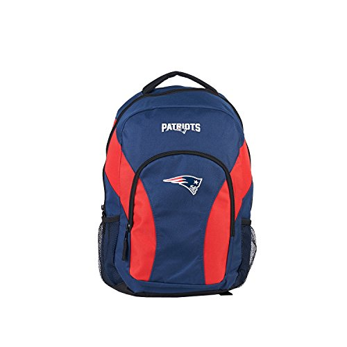 The Northwest Company New England Patriots Backpack Draftday Style Navy and Red