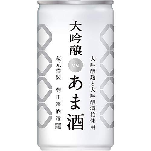 菊正宗大吟醸deあま酒190g×30本