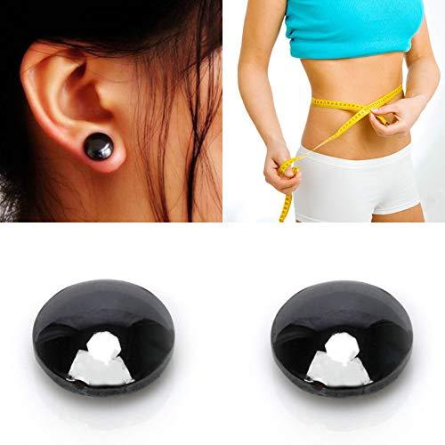Alftek 1/4/6 / 10Paare Gewicht Verlust Ohrring Bio Magnetic Slimming Stimulieren Akupunkturpunkte Gesundheit Akupressur