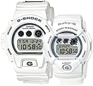 Casio Sport Watch Digital Display Lov-16C-7Dr, White Band, For Unisex