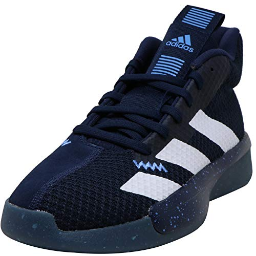 adidas Men's Pro Next 2019 Basketball Collegiate Navy/Cloud White/Glow Blue