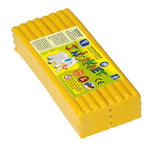 Vouchtmann speelgoed 628.0305-1 - juniorknet klei Jumbo Pack, 500 g geel