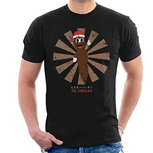 Mr Hankey The Christmas Poo Retro Japanese Men's T-Shirt