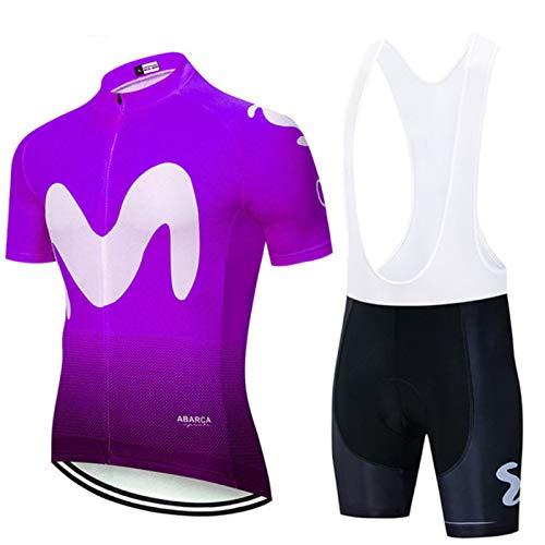 HXPainting Hombre Verano Maillot Ropa De Ciclismo 9D Acolchado Gel Cycling Jersey Camiseta Bicicleta + Bib Shorts/Shorts