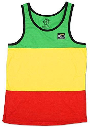 T-Shirt - Catch a Fire - Rasta Stripe Tank Top Medium