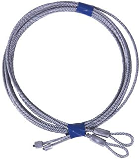Pair of 7' Garage Door Cable For Torsion Springs