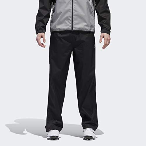 adidas Golf Men's Climastorm Provisional rain Pant, Black, Medium/Regular