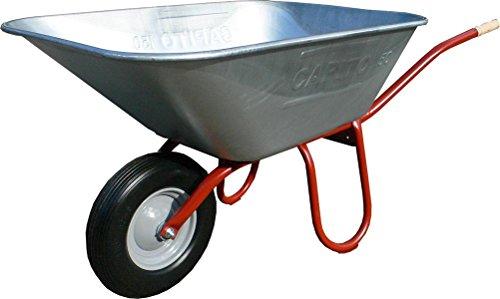 Foxwinkel Großmuldenschubkarre PRAKTICA 1 Rad 150 Liter