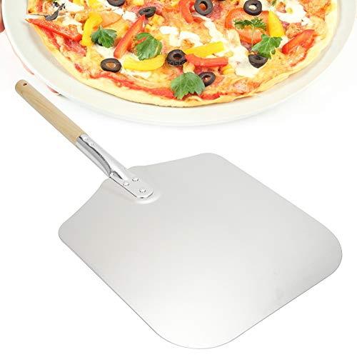 JUEYAN 67cm Pizzaschieber Aluminium Pizzaschaufel Pizzaheber Mit Holzgriff zum Backen Hausgemachte Pizza Brot Brotschaufel
