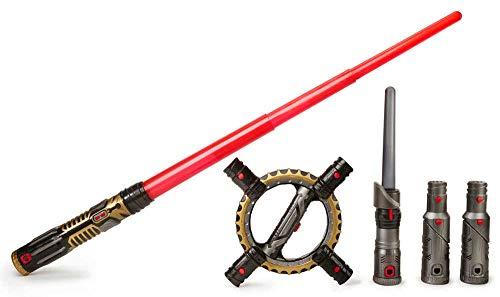Star Wars B8263EU4 - Spada Laser, Nero/Rosso