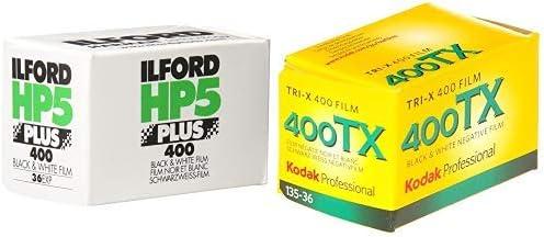 Ilford 1574577 Hp5 Plus 400 27 Schwarz Kamera