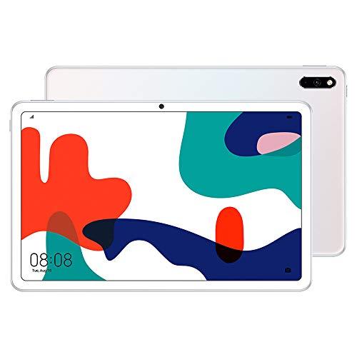 Huawei MatePad 10.4'- Procesador Kirin 810 Octa-Core, EMUI 10.1 (Basado en Android 10), Cámara Frontal 8 MP, Gran Angular, 64 GB ROM+ 4 GB RAM, Color Blanco - (No contiene los servicios de Google.)