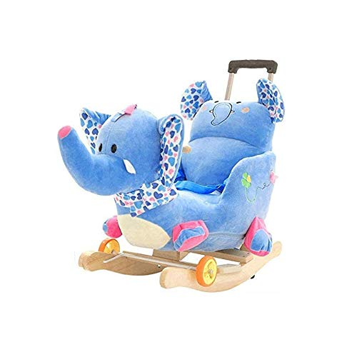 WCJ Baby Rocking Chair Swings & Chair Bouncers Children's Rocking Horse baby houten paard Toy New-Born Baby Swing Chair
