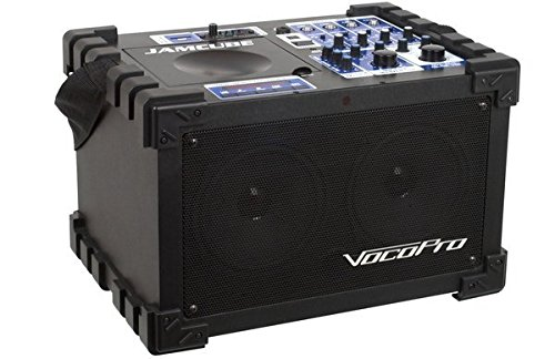 Great Features Of VocoPro JAMCUBE 1 100W Stereo All-In-One Mini PA/Entertainment System