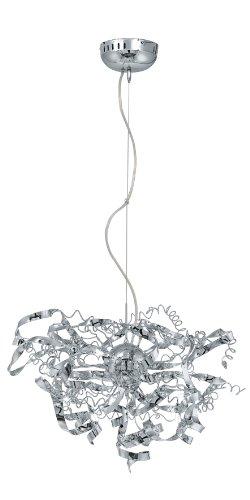 Eglo Modelo Jerez/EN – Lámpara colgante (Acero Cromado/
