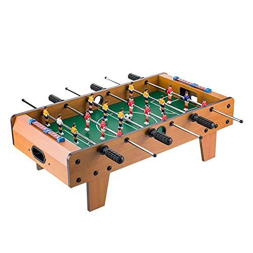 ZXWNB Fußball Tisch, Mini Tisch Billard Spielzubehör Fußball Tisch Spiel Sport Spiel Familienabend 4-10 Jahre Alt
