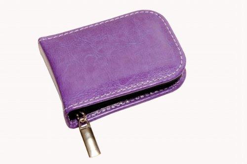 Homöopathische Taschenapotheke Lavendel mit 12 Klargläsern lila für Globuli