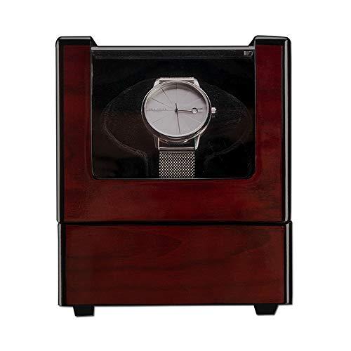 LJP Automático Cajas Giratorias para Relojes para 1 Reloj De Pulsera Impermeable Relojes Bobinado Estuche Ultra Silencioso Rotación Pintura Piano