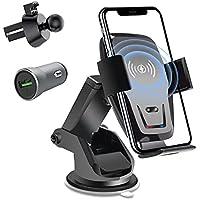 Bluecedar Air Vent Dashboard Car Phone Holder Wireless Car Charger
