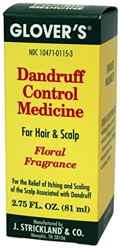 Glover's Dandruff Control Medicine Floral Fragrance, 2.75 Ounce