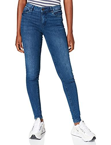 Springfield Jeans Body Shape Pantalones, Azul Medio, 38